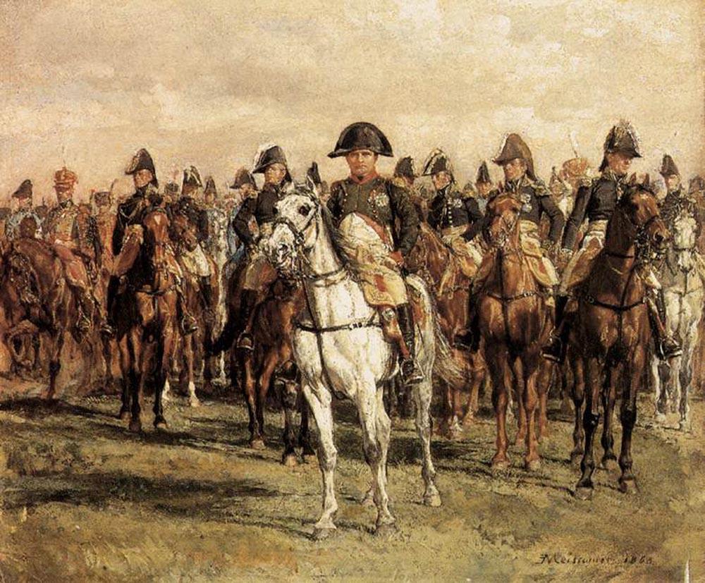 Жан-Луи-Эрнест Месонье. Наполеон и его союзники