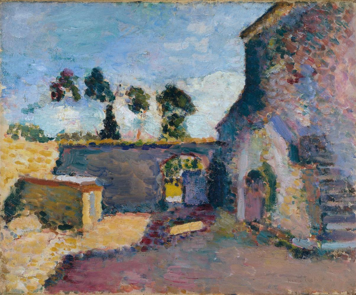 Henri Matisse. Двор мельницы в Аяччо (Старая мельница, Корсика)