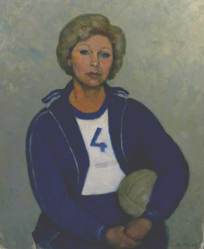 "Julia Nikolaevna Truse-Ternovskaya (Truse-Kokushkina). ""Portrait of Nadja"""
