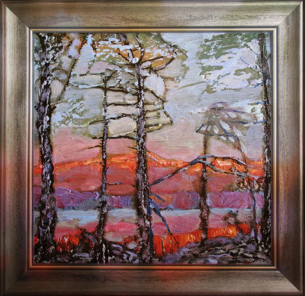 Alexander Ivanovich Vlasyuk. Forest silence