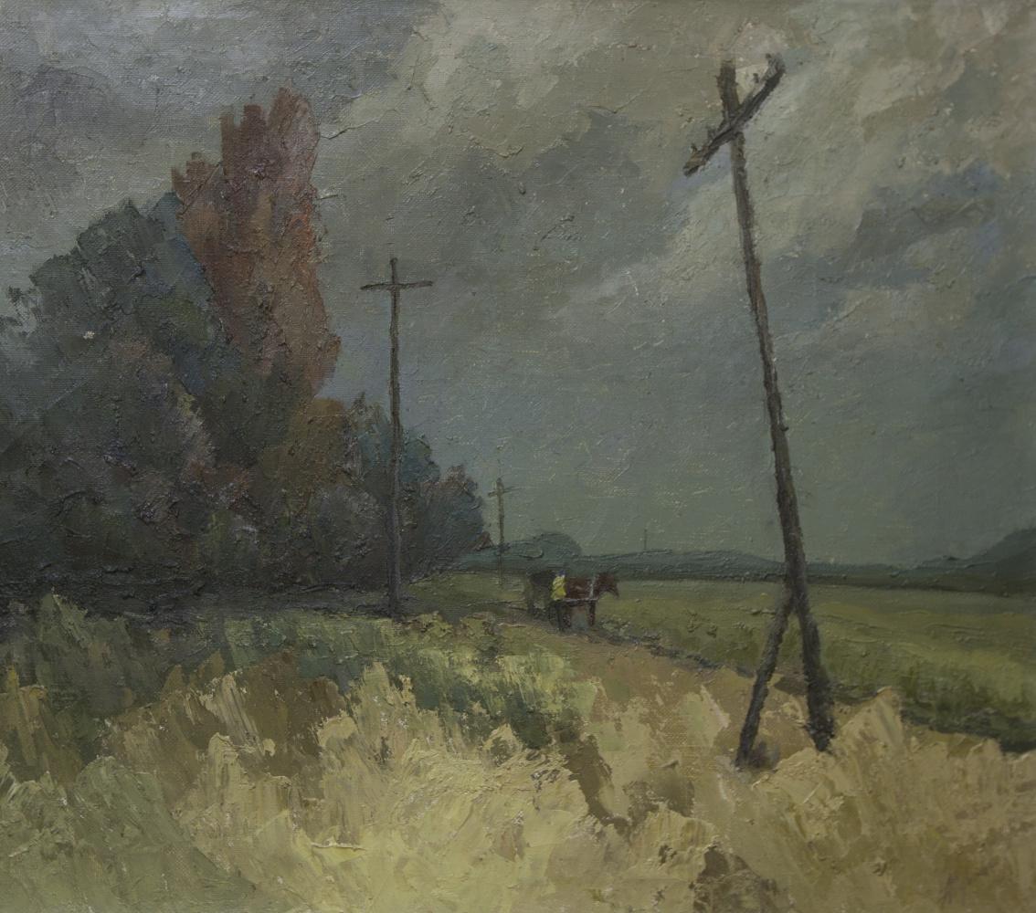 Alexander Vasilievich Yudintsev. Getting dark