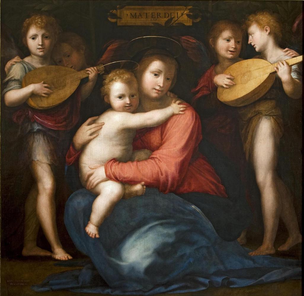 Фра Бартоломео. Madonna and Child with Four Angels