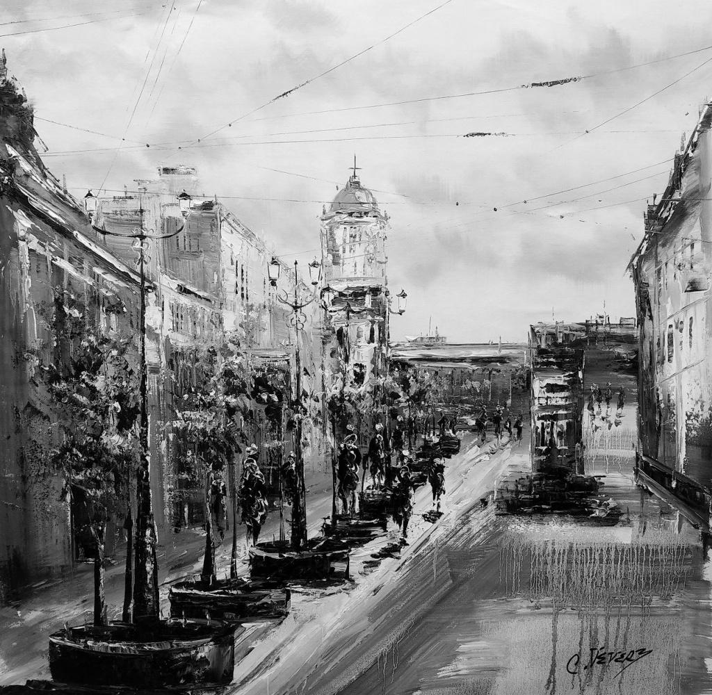 (no name). St. Petersburg. Monochrome