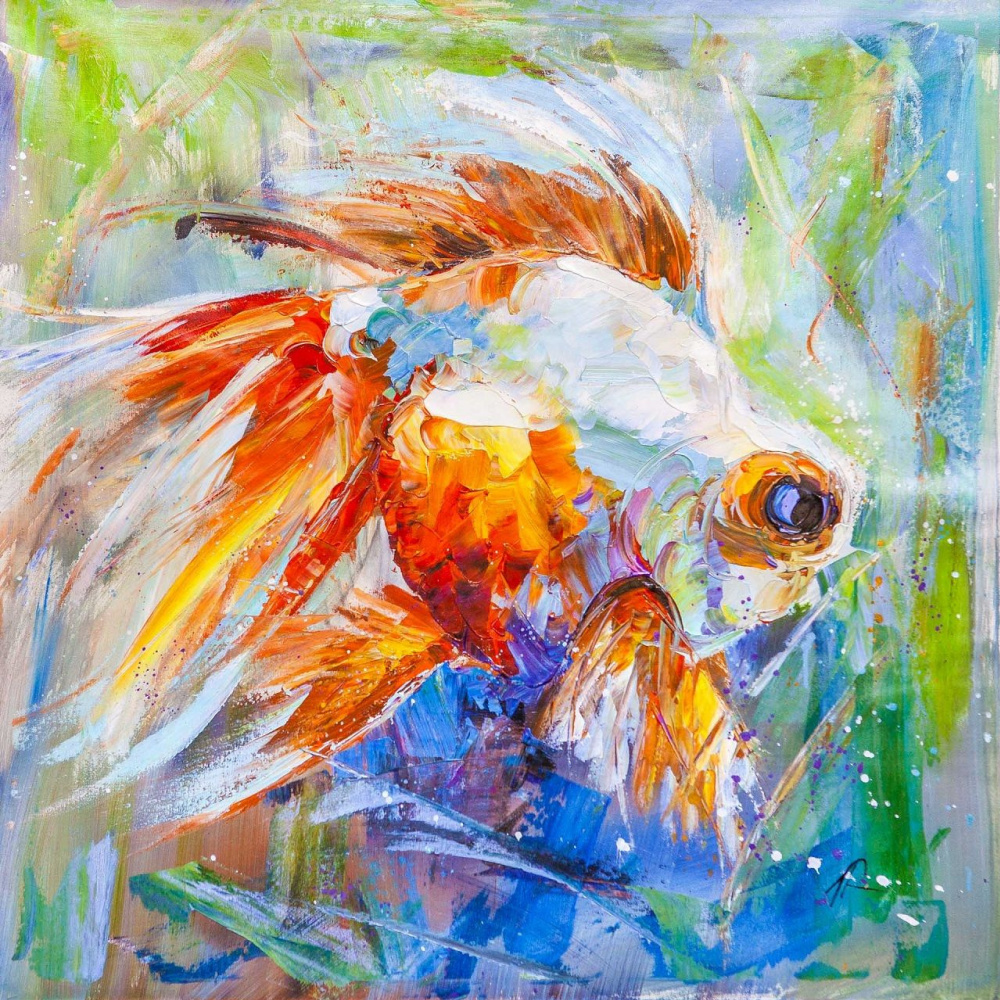 Jose Rodriguez. Goldfish for the fulfillment of desires. N23