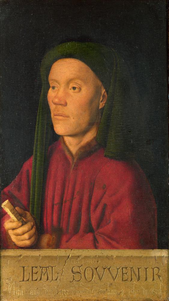 Ян ван Эйк. Мужской портрет (На верную память)