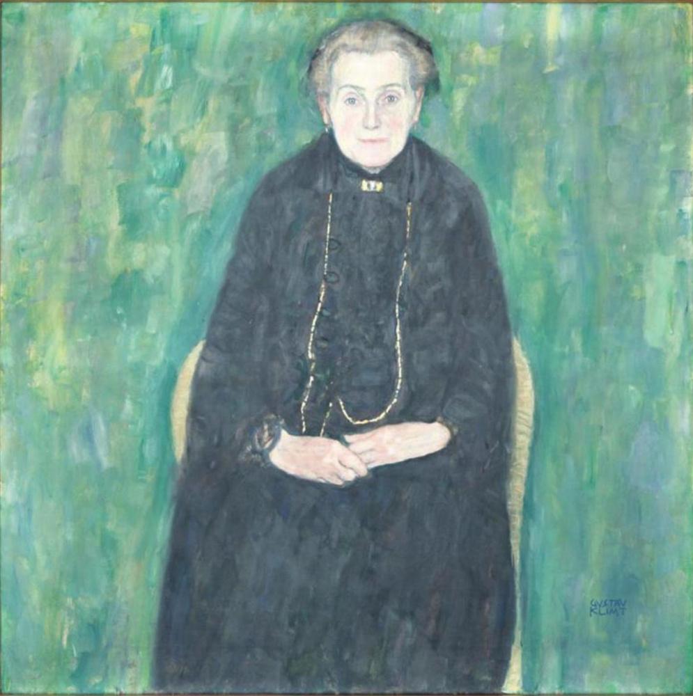 Gustav Klimt. Portrait of Barbara Flöge (mother of Emilie Flöge)