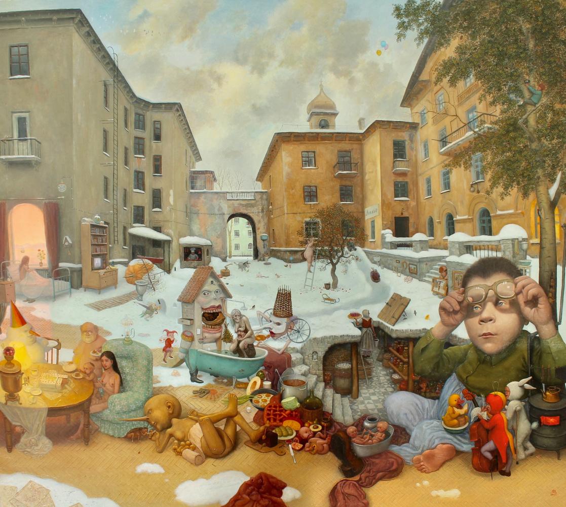 Михаил Лобырев. Christmas haven