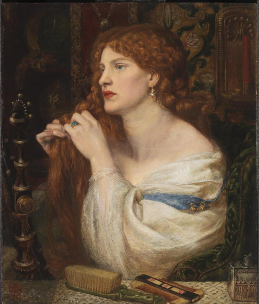 Dante Gabriel Rossetti. Aurelia (Fazio's Lover)