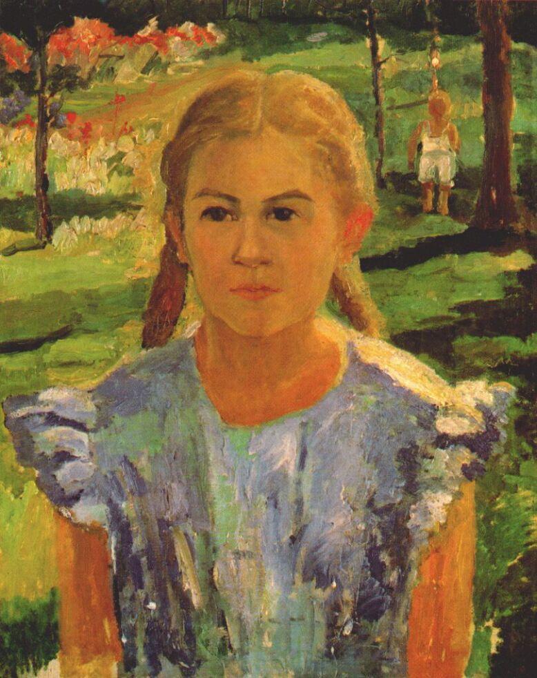 Kazimir Malevich. Una`s Portrait
