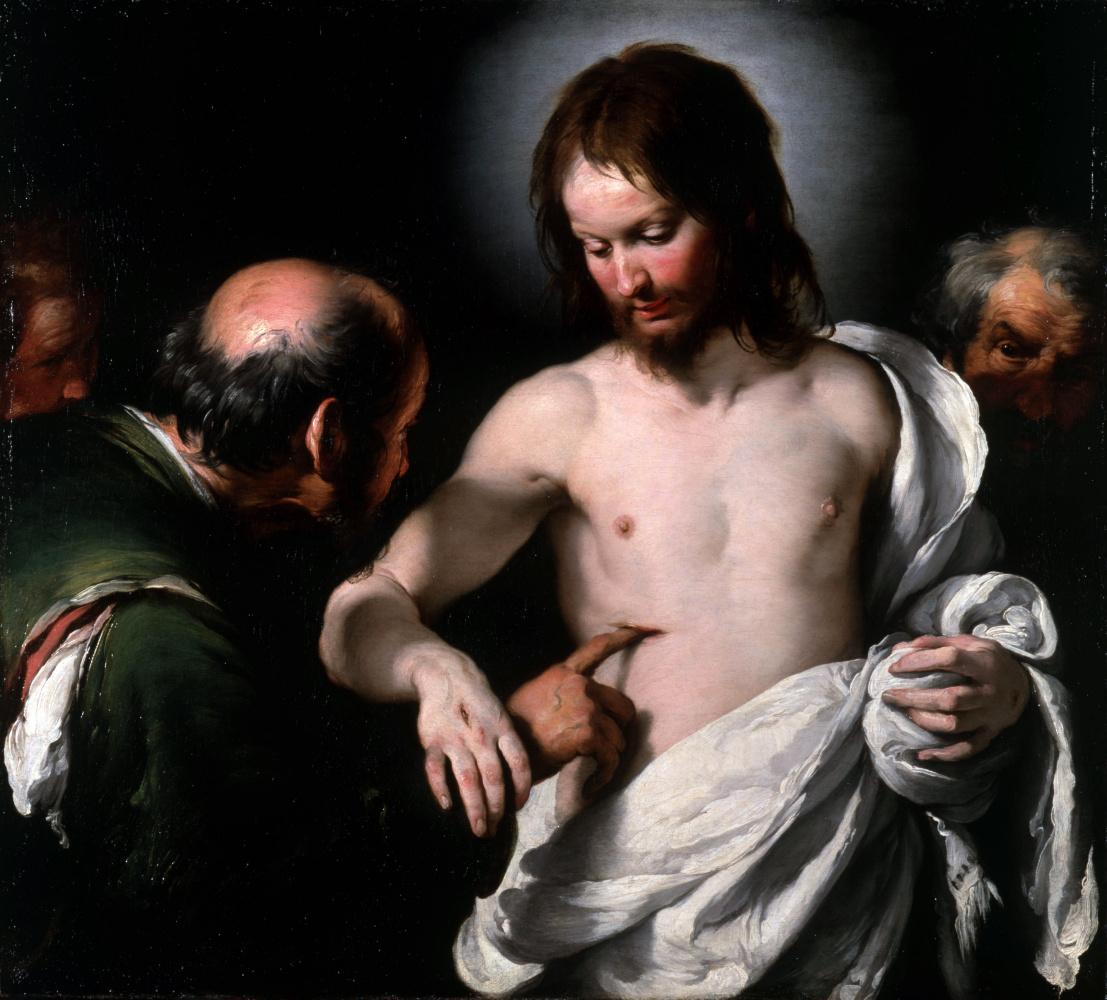 Бернардо Строцци. Неверие святого Фомы