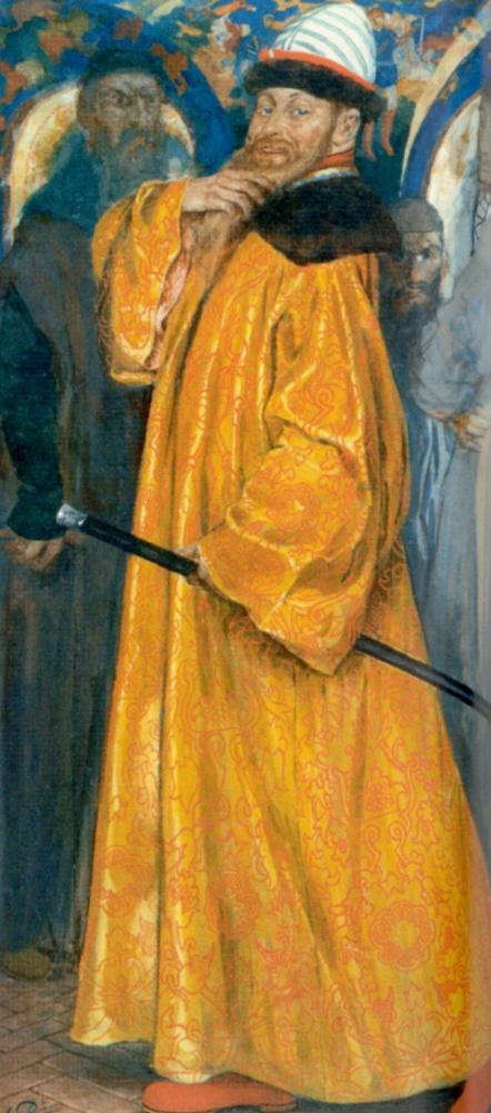 Андрей Петрович Рябушкин. Пожалован шубой с царского плеча