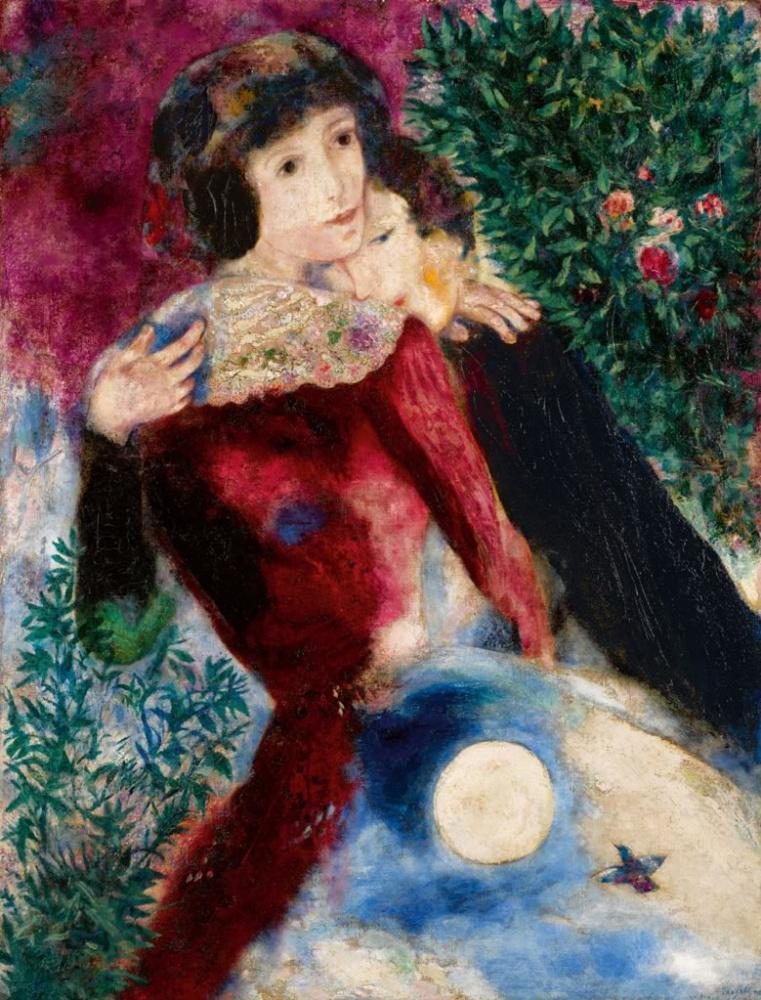 Marc Chagall. Les Amoureux