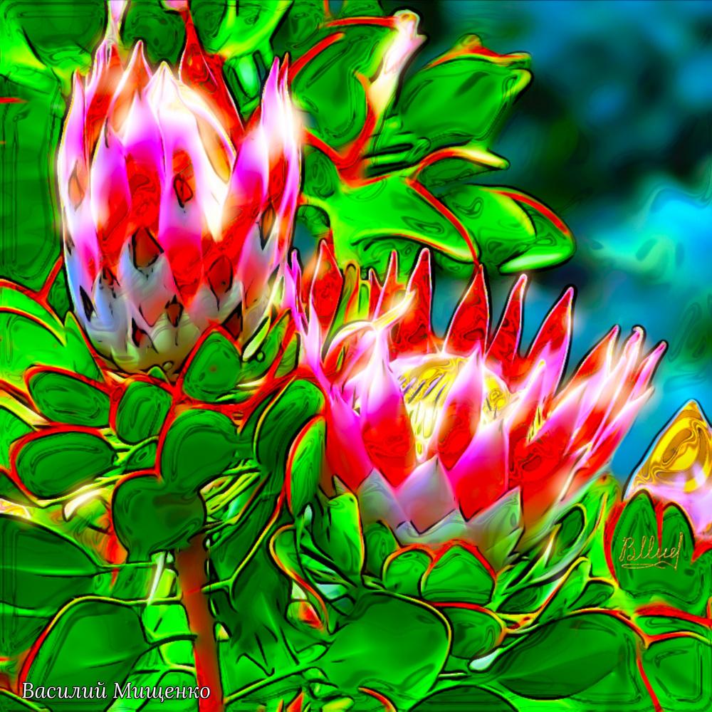 Vasiliy Mishchenko. Flowers 046