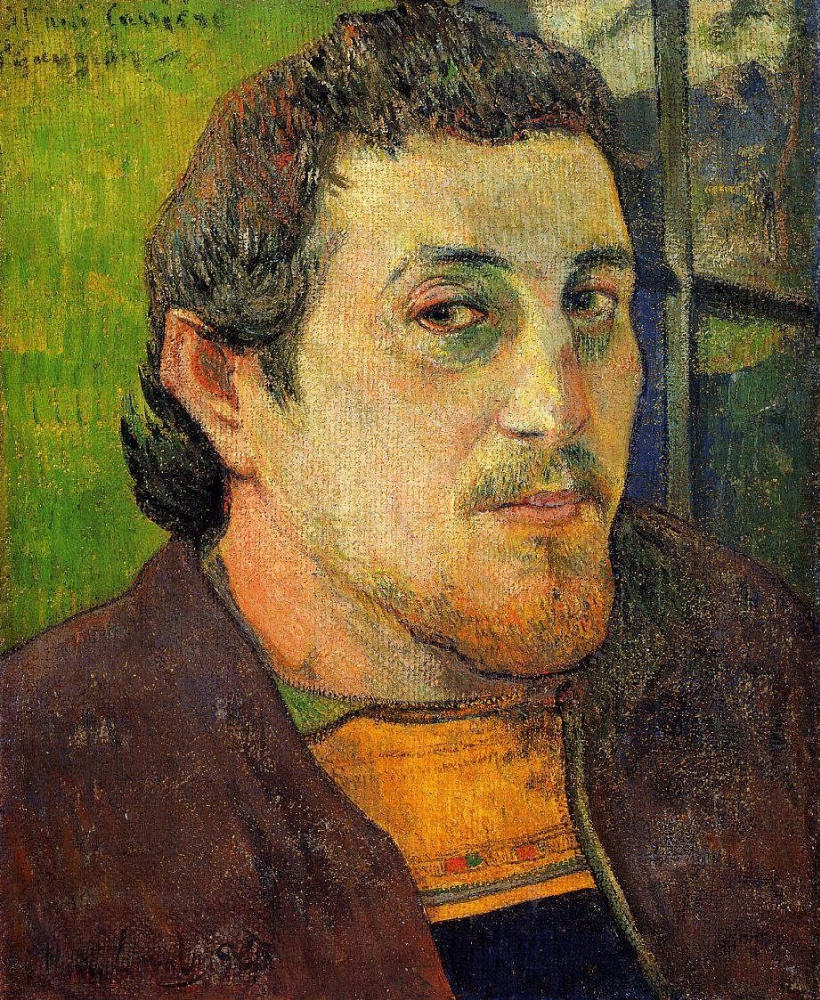 Paul Gauguin. Self-Portrait Dedicated to Carrière