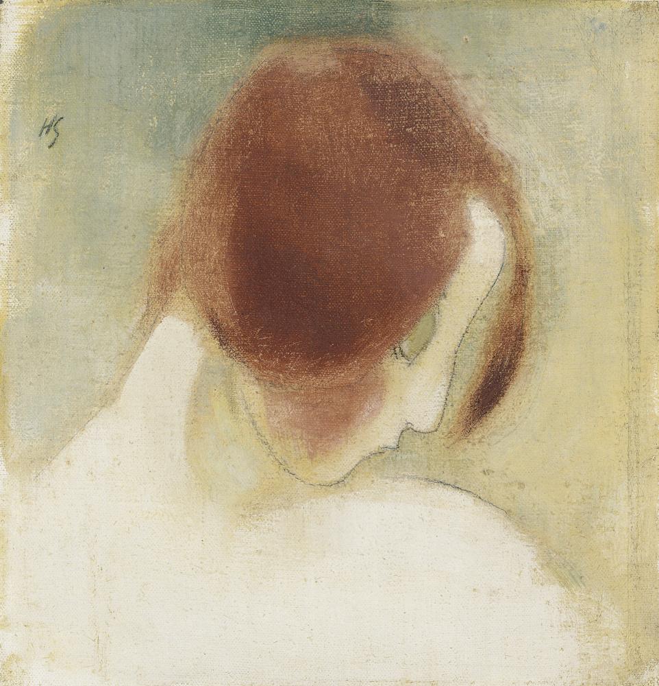 «Рыжеволосая девушка» (1915)