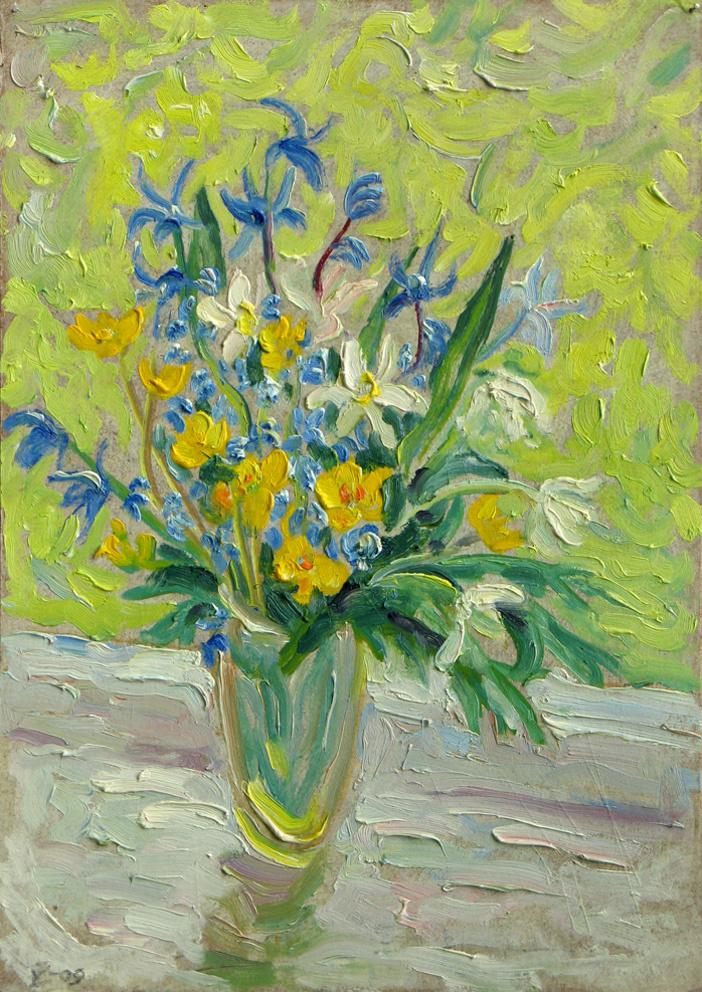 Alexey Vladimirovich Konstantinov. First little flowers