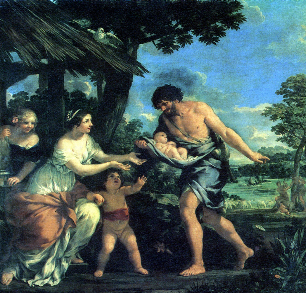 Пьетро Да Кортона. Нахождение Ромула и Рема Фаустулом