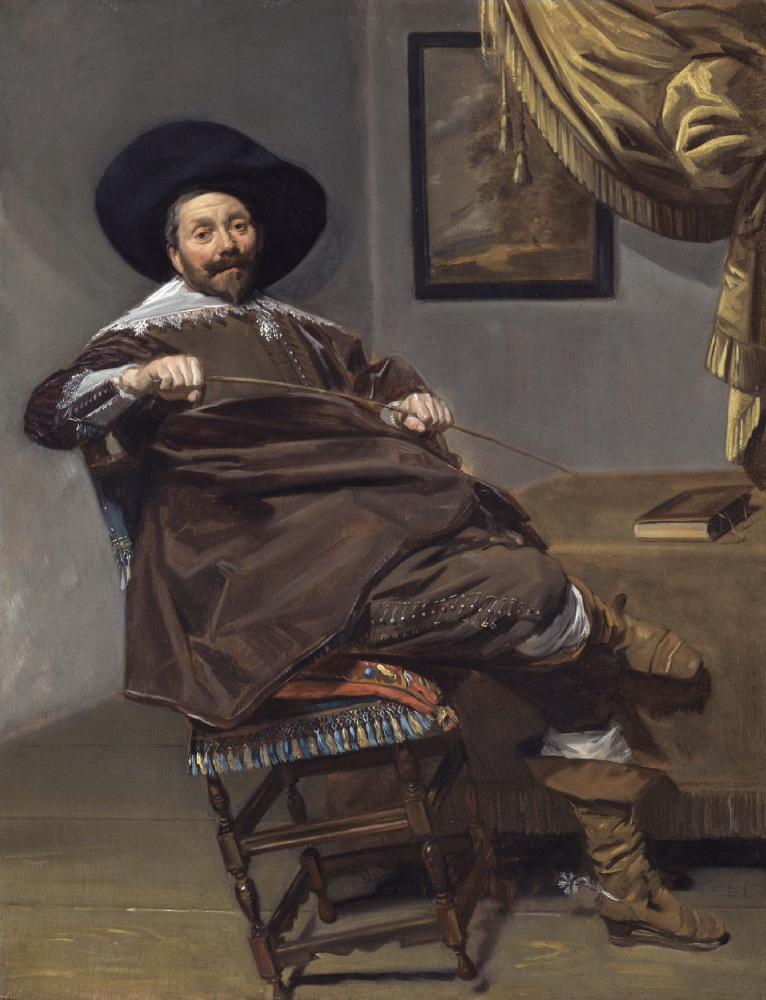 Frans Hals. Portrait Of Willem Hakassan