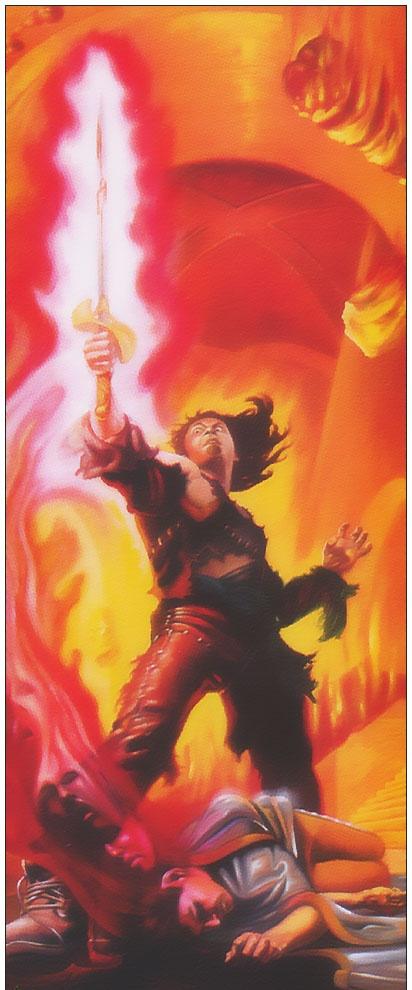 Аллан Поллак. Огненный меч