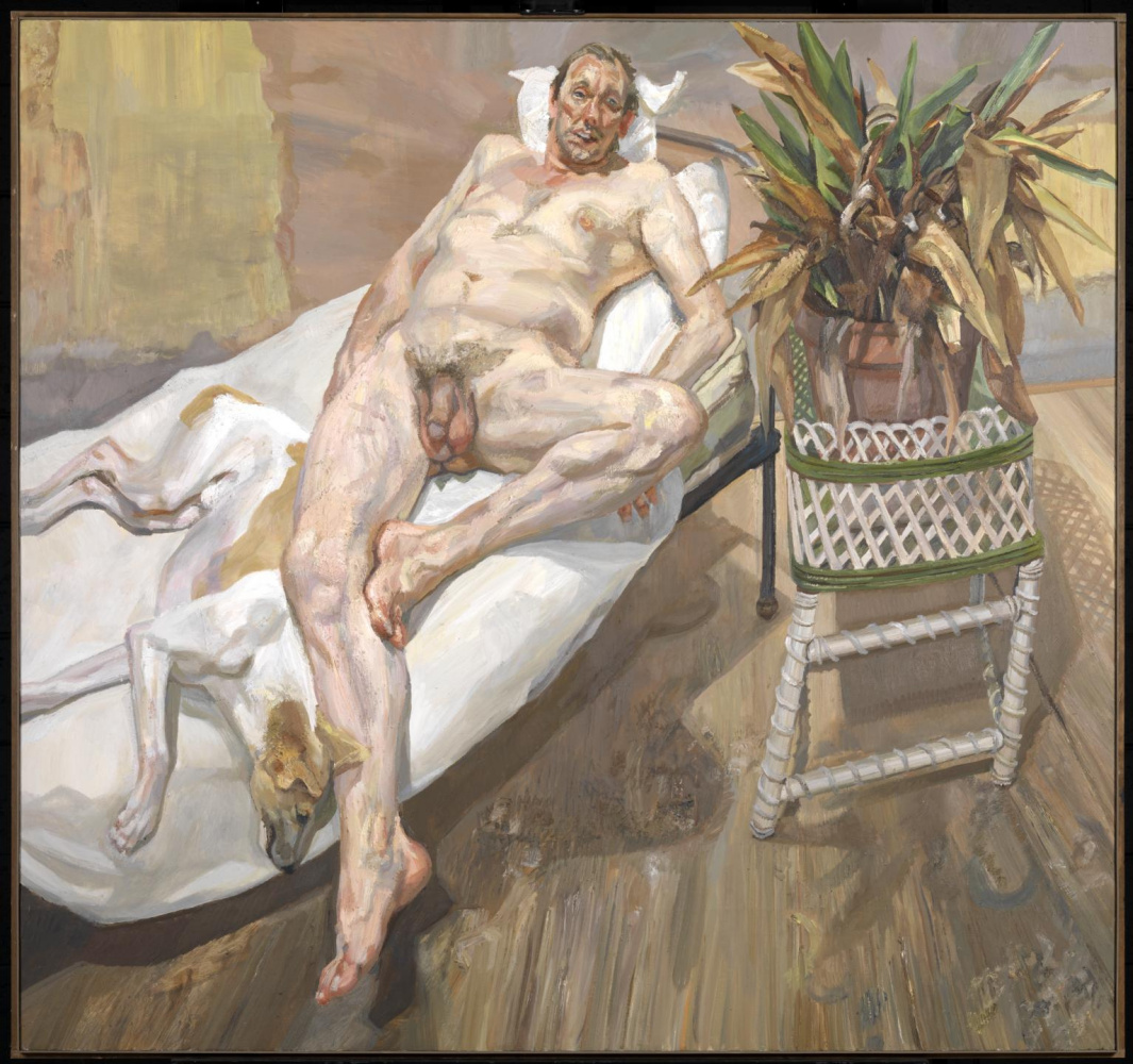 Lucien Freud. David and Eli
