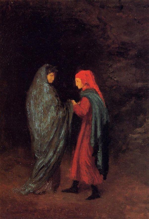 Эдгар Дега. Данте и Вергилий при входе к дьяволу