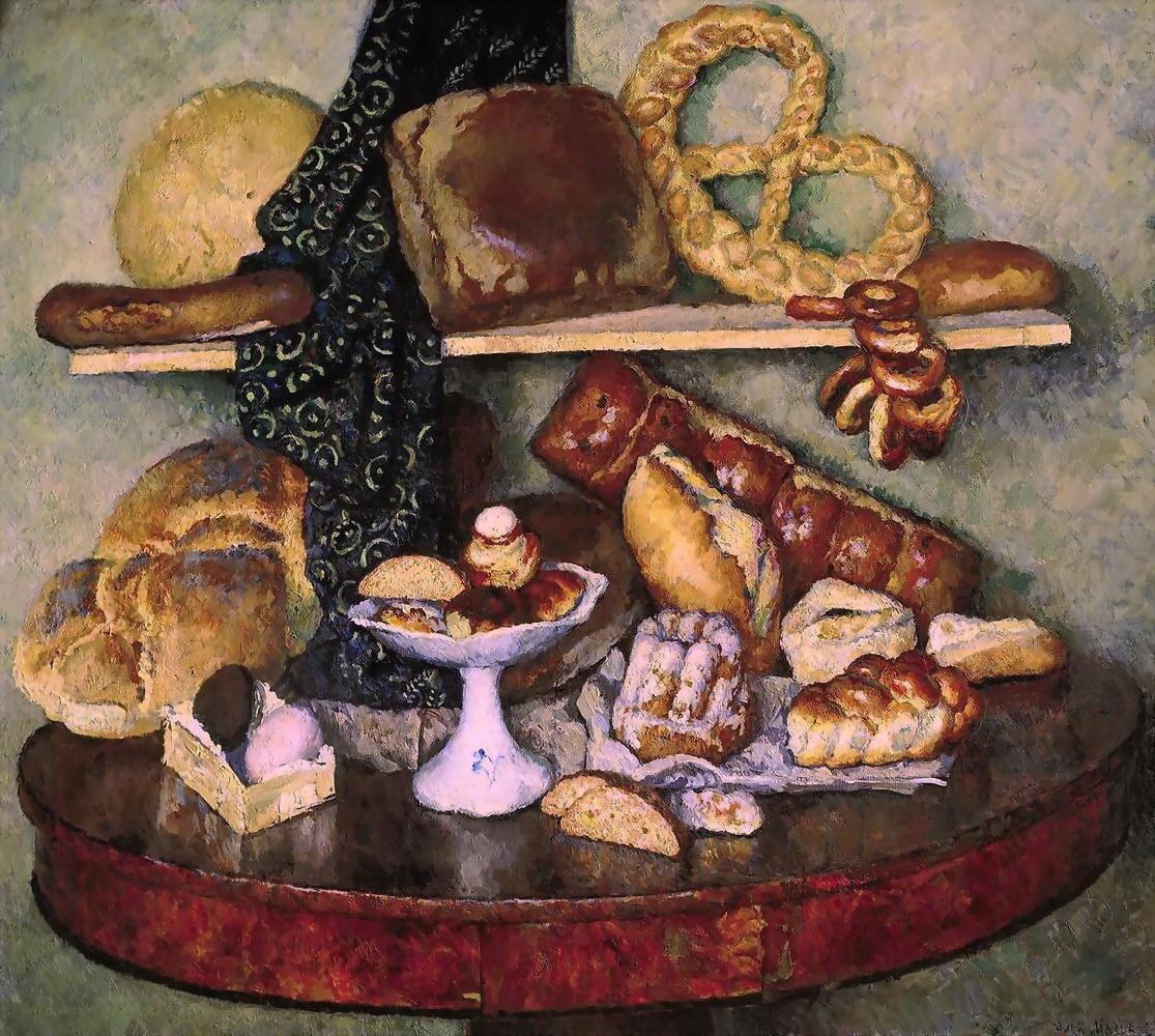 Ilya Ivanovich Mashkov. Eatables Moscow. Bread