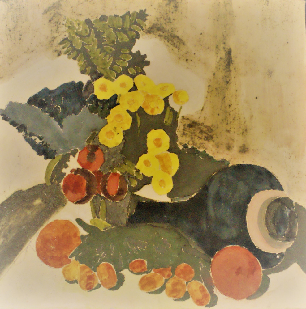 Anna Tupitsyna. Vase with Flowers