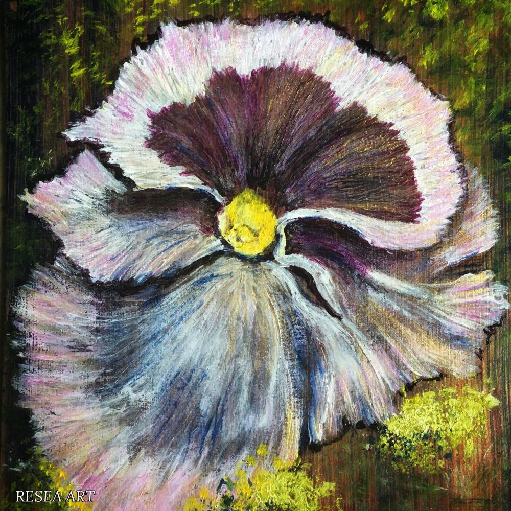RESEA .. Flowers of Russia. Etude 1
