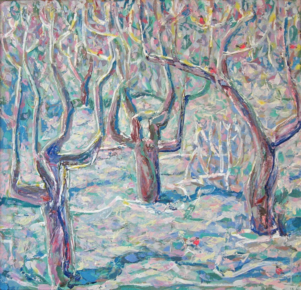 Vladimir Vasilyevich Plastinin. Dancing trees