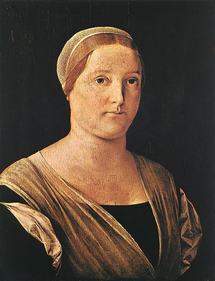 Лоренцо Лотто. Женский портрет