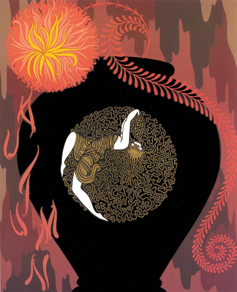 """Роман Петрович Тыртов (Эрте). Песнь осени. Серия """"Воспоминания о двадцатых"""""""