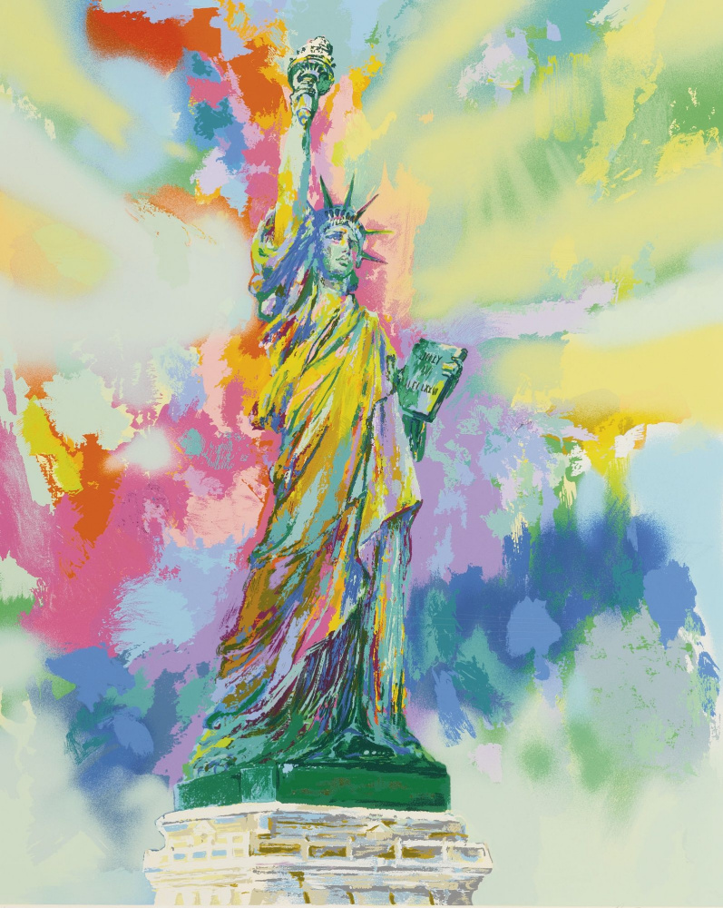 Leroy Neiman. Lady Liberty