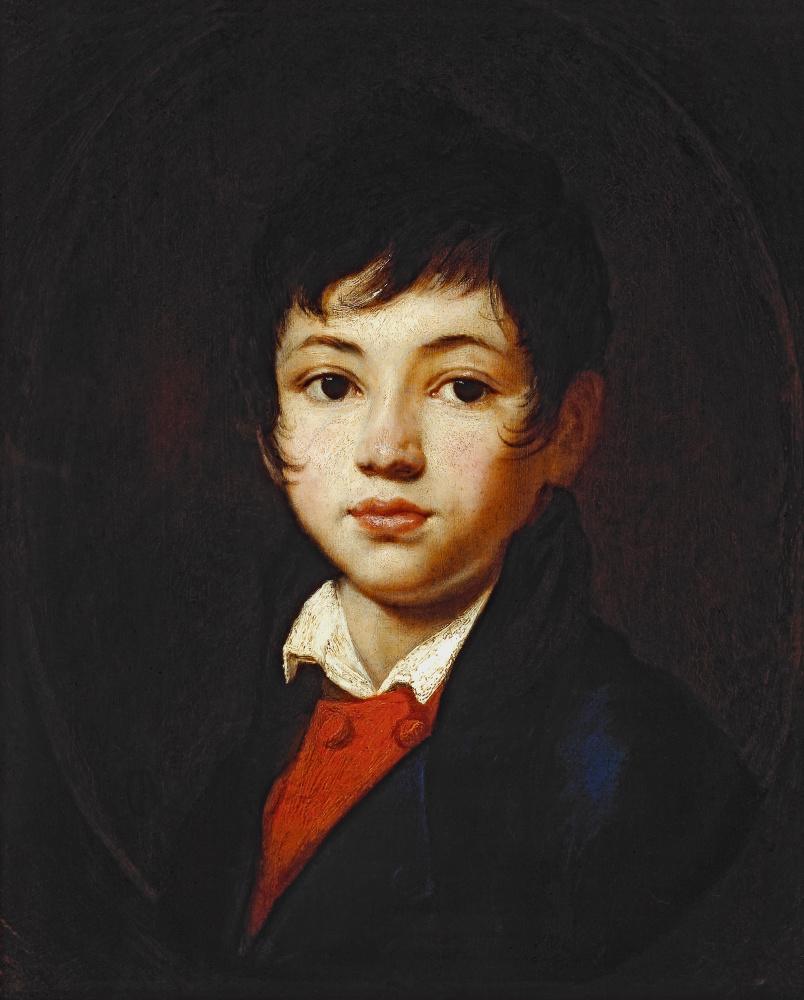 Orest Adamovich Kiprensky. Portrait of Alexander Alexandrovich Chelishchev