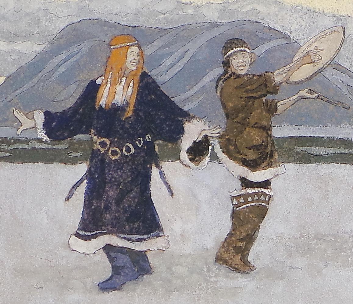 VALERIY VLADIMIROVICH KOMAROV. SMILE TUNDRA. (snippet 1)