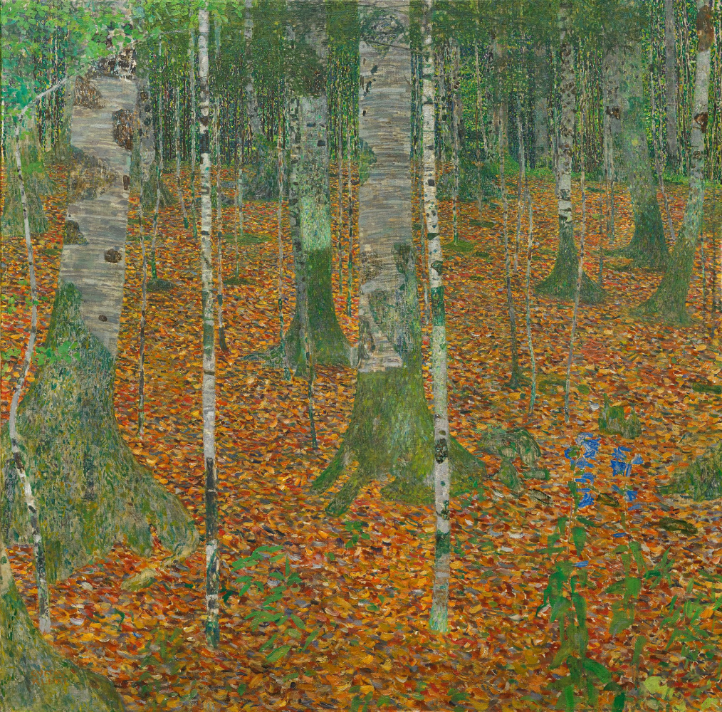 Gustav Klimt. Birch forest