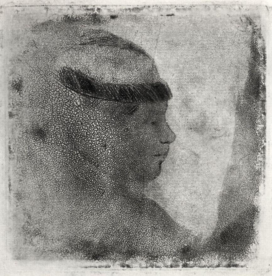 Эдгар Дега. Голова женщины