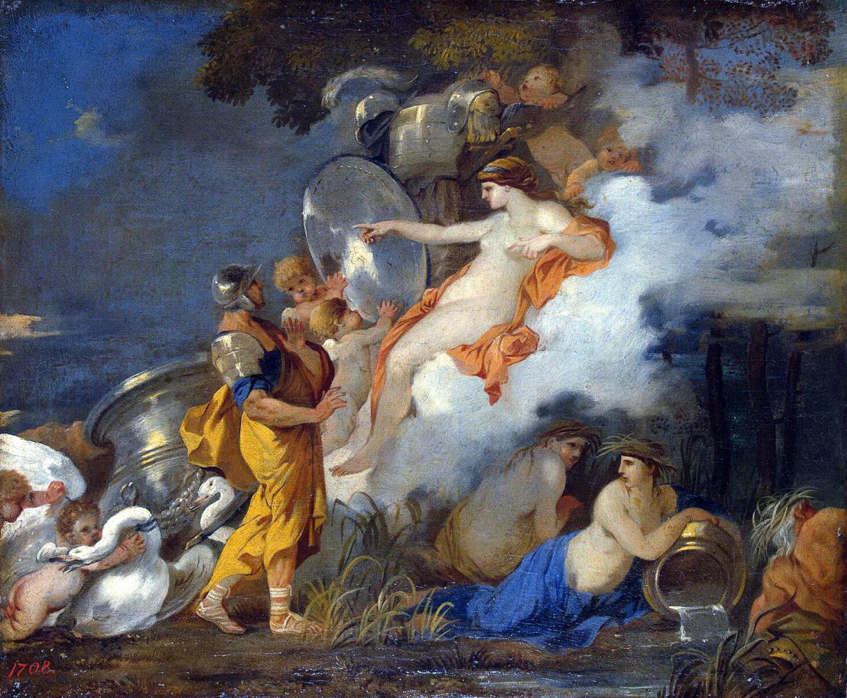 Себастьян Бурдон. Венера и Эней