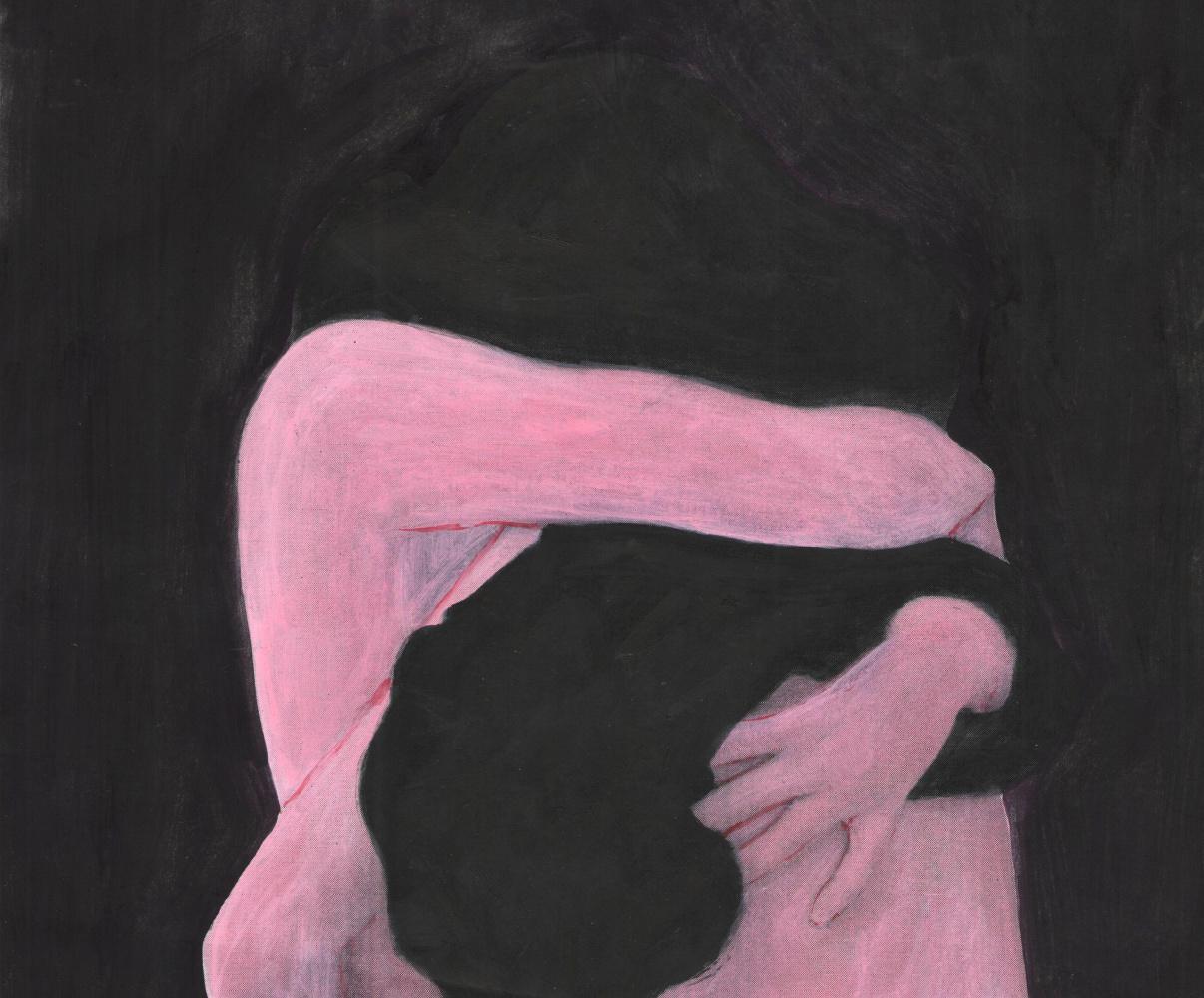 Nickie Zimov. Through the cracks