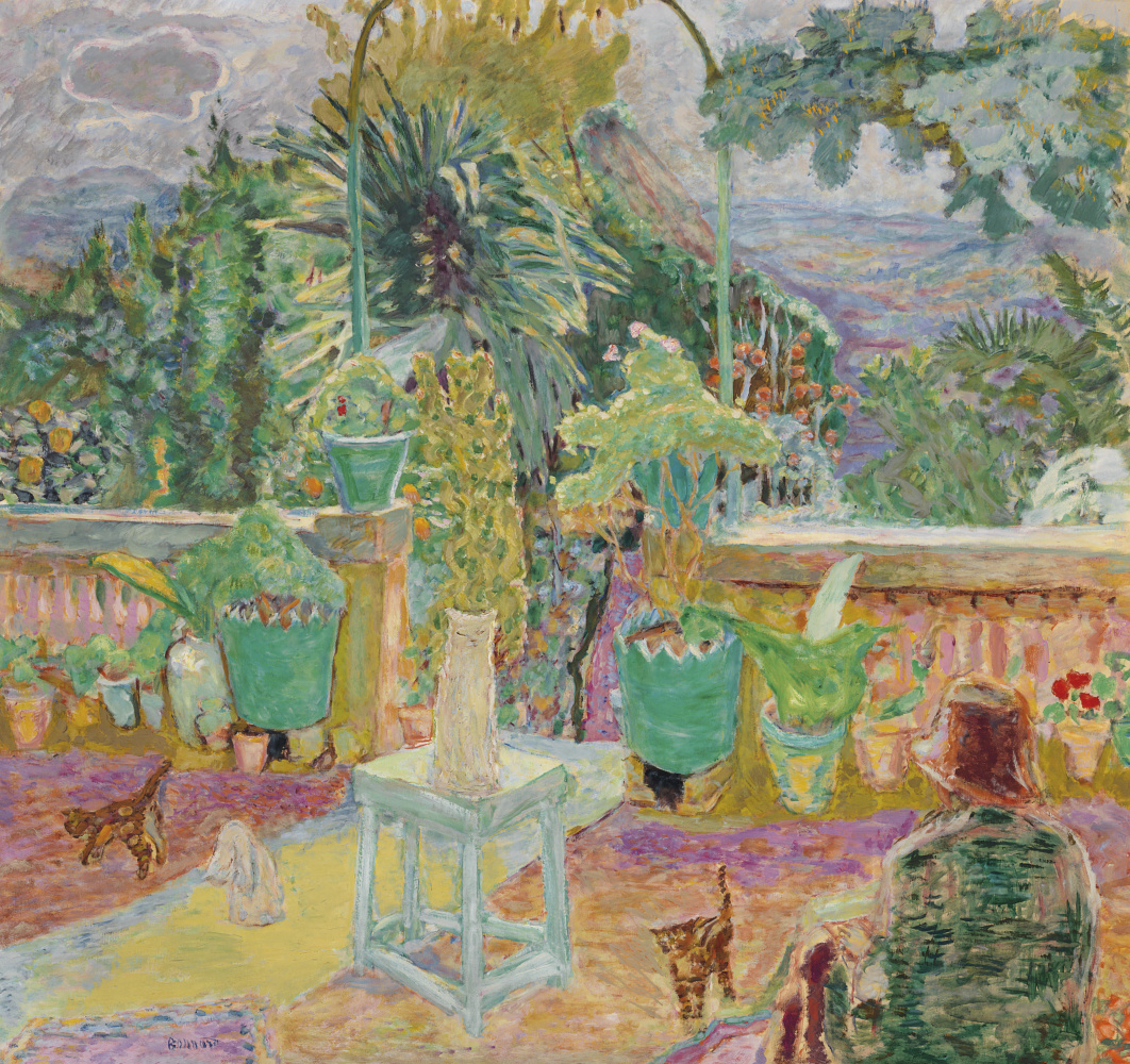 Pierre Bonnard. Terrace in Grasse