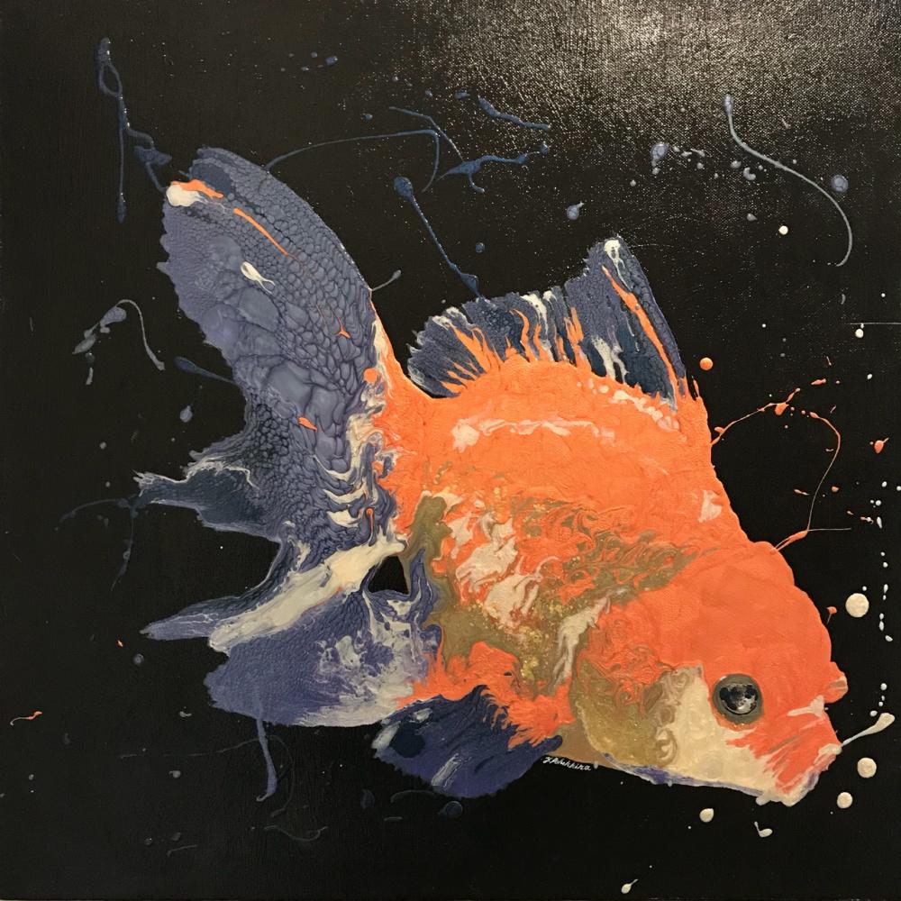 Julia Borisovna Polukhina. Fish in the dark