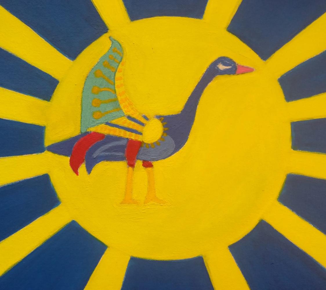 Bird Phoenix - Carved Hairpin ...