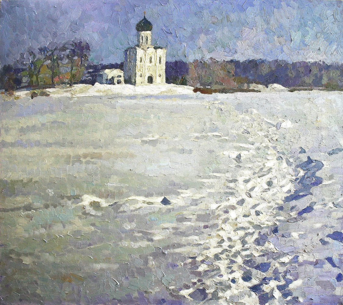 Mikhail Rudnik. January in Pokrov