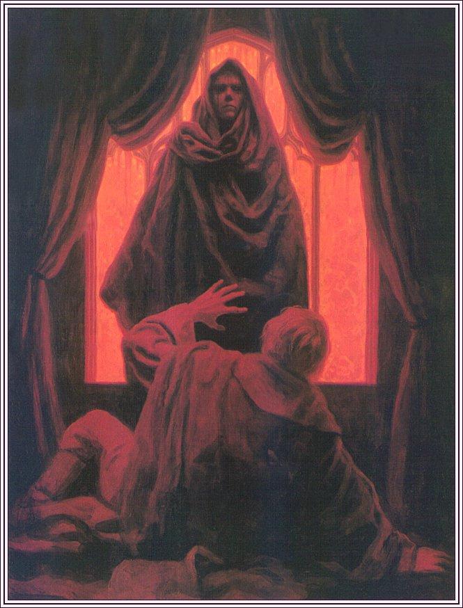 Грег Хильдебрандт. Маска красной смерти