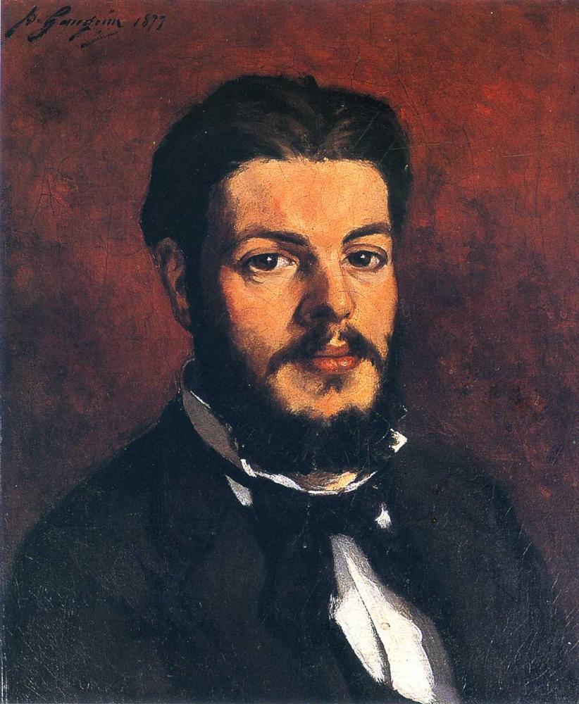 Paul Gauguin. Portrait ofClaude Antoine Charles Favre
