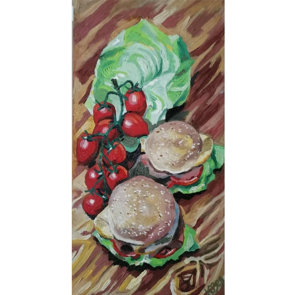 Julia Sergeevna Zelenskaya. Burgers