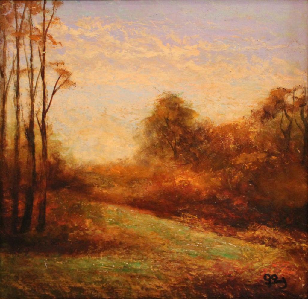 Grigor Mishikovich Zalinyan. Autumn