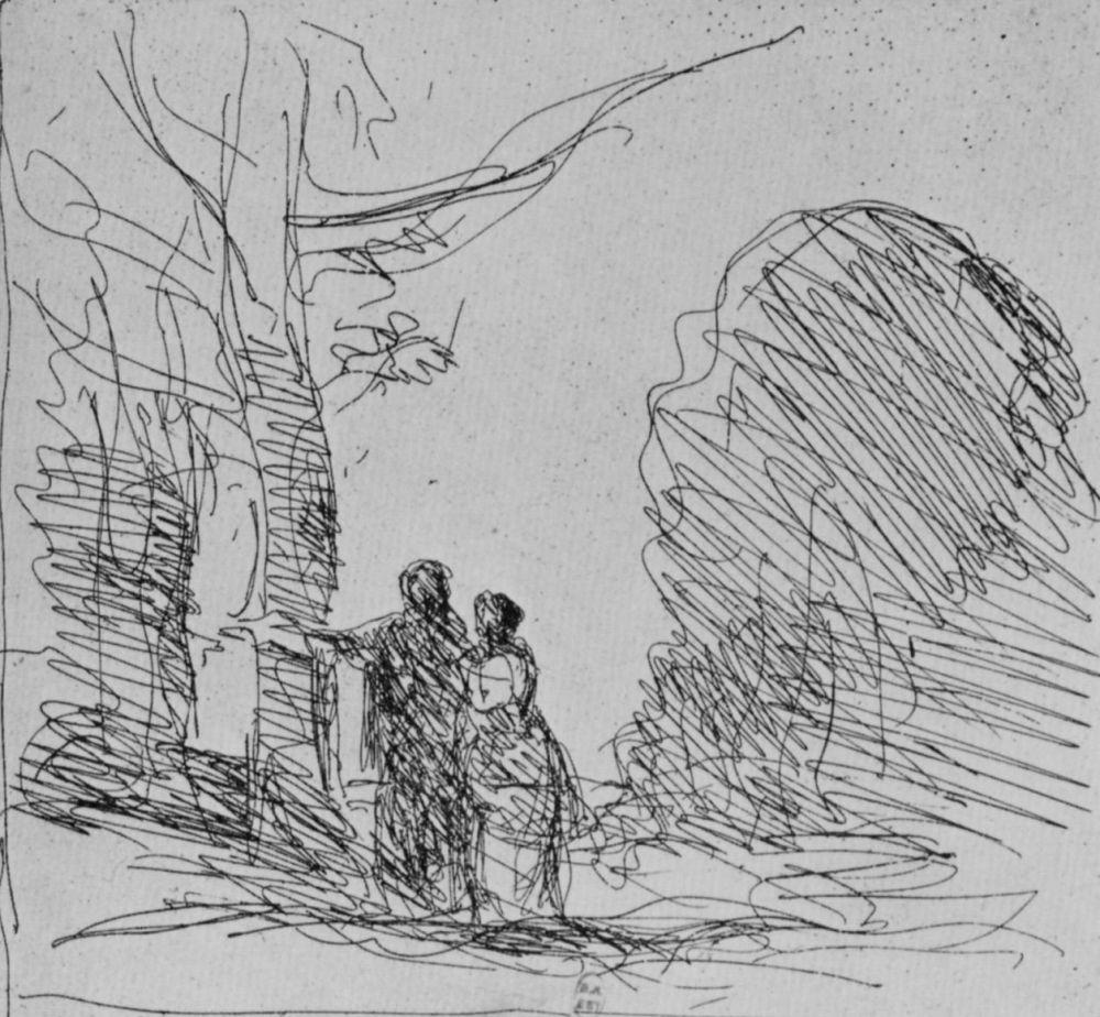 Камиль Коро. Аллея художника