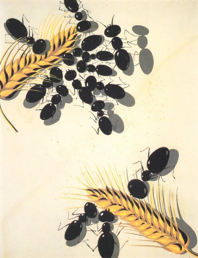 Salvador Dali. Ants