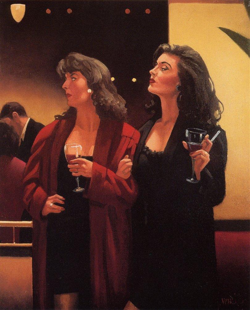 Jack Vettriano. Night girls