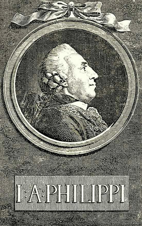 Даниэль  Николай Ходовецкий. Портрет И. А. Филиппи